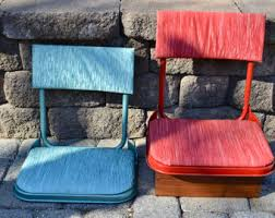 Padded Stadium Chairs For Bleachers by Back Seat Saver Etsy