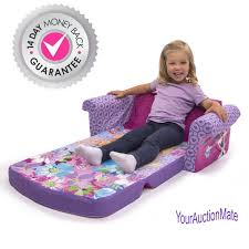 Marshmallow Flip Open Sofa Disney Princess by Disney Frozen 2 In 1 Sofa Flip Open Lounger Marshmallow Bed Kids
