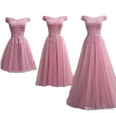 Cap Sleeve Bridesmaid Dresses Floor Length by Dusty Pink Bridesmaid Dresses Floor Length Boat Neck Cap