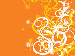 Orange Background Design Free Download