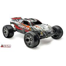 Rustler VXL: 1/10 Scale Stadium Truck With TQi Traxxas Link Enabled ...