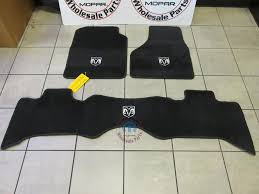 Jeep Commander Floor Mats Oem by Dodge Ram Premium Carpet Front And Rear Quad Cab Floor Mats New