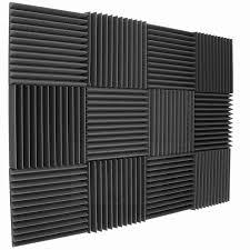 12 X 12 Foam Ceiling Tiles by Mybecca 96 Pack Acoustic Foam Wedges 2