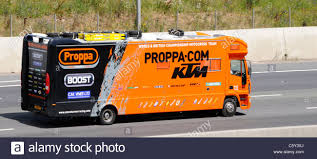 100 Names For A Truck Sport Sponsorship Of Motocross Team On Lorry Truck Side Showing
