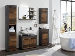 badezimmer unterschrank kommode used wood grau vintage badmöbel bad schrank indy