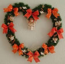 pâte à sel noël couronnes de bienvenue wreaths
