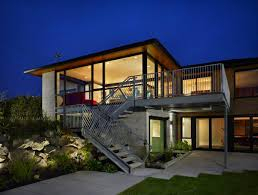 Beautiful Concrete Home With Gray Exterior Metal Stair Features ... 20 Wood Concrete House Images Ideas Goadesigncom Foam Forms Create An Energyefficient Harmony Homes Quality Cast In Concrete Home Designs Design Ideas Een Bijzondere Hangende Scheidingswand Interieur Interieur 31 Modern Beautiful Abc Small With Brick And Eksterior Wall Fruitesborrascom 100 Block The Martinkeeisme Precast Bathroom Ex Machina Film Inspires Architecture For A Writers
