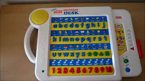 vtech smart alphabet picture desk vtech smart talking a to z learning alphabet desk 1994