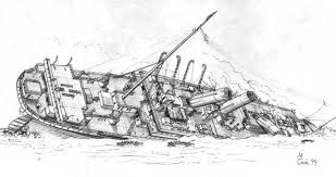 Brittanic Sinking by Britannic U0027s Final Moments By Carsdude On Deviantart