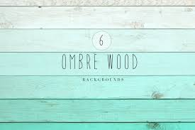 Ombre Wood Backgrounds By The Little Cloud