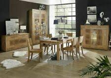 tisch stuhl sets aus eiche fürs esszimmer günstig kaufen