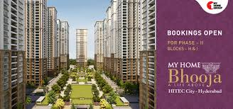 100 Architects In Hyd My Home Bhooja 3 Bhk Flats 3 Bhk Apartments 4 Bhk Flats