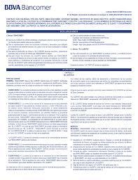 Contrato BBVA Bancomer