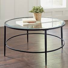 Round Glass Coffee Table Metal Base   Http://therapybychance.com ... Pottery Barn Round Coffee Table Home Design And Decor Tables Ebay 15 Best Ideas Of Console Metropolitan With Inspiration 768 Accsories Benchwright Foyer Settee About Win Style Hoomespiring Molucca Media Blue Distressed Paint End Designs Hd Photos 752