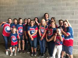 Members Of Voices In The Laurel Have Fun Behind Scenes As They Wait To Sing National Anthem For Atlanta Braves Game On June 24 This Summer