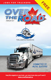 100 Dac Report For Truck Drivers OTR February 2017 By Over The Road Magazine Issuu