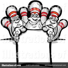 Bowling Clipart Illustration by Chromaco