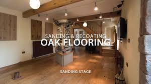 100 Peak Oak Flooring Sanding And Recoating