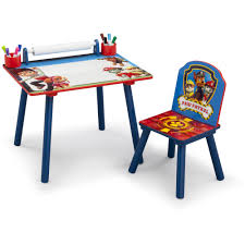 Toddler Art Desk Australia by Nick Jr Paw Patrol Room In A Box With Bonus Chair Walmart Com