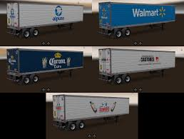 100 Trucks And Trailers Usa Skins MexicoUSA Companies 12 ATS Mods American Truck
