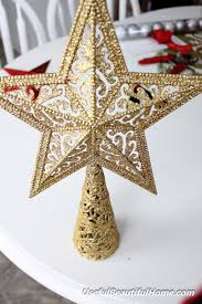 Christmas Tree Toppers To Make by Diy Tree Topper Peeinn Com