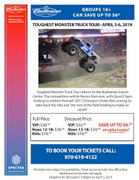 100 Monster Truck Events Toughest Tour The Ranch Larimer County Fairgrounds