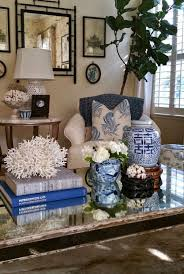 abat jour chambre gar輟n garden home and vignettes timeless blue white