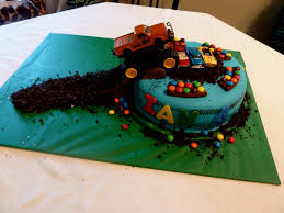 Smartly A Birthday My Birthday Cakes Images On Birthday For ... Truck Cake Kay Cake Designs Monster Truck My First Wonky Birthday Design Parenting Monster Cakes Hunters 4th Decoration Ideas Wedding Academy Cakes From Maureens Semi In 2018 Pinterest 10 Dump For Boys Photo Muddy