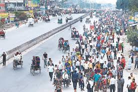 100 Wse Trucking Commuters Suffer In 48hr Transport Strike In Bangladesh Daily Star