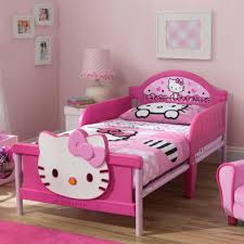 hello kitty 3d toddler bed pink toys r us