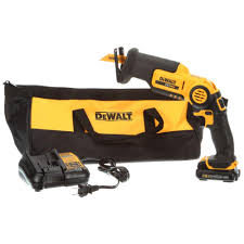 DEWALT 12 Volt MAX Lithium Ion Cordless Pivoting Reciprocating Saw