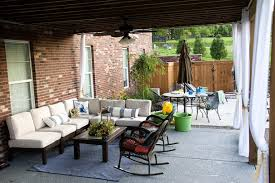 Vinyl Patio Curtains Outdoor by Bar Furniture Patio Curtains Outdoor Outdoor Curtain Rods For