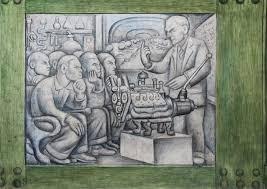 Diego Rivera Rockefeller Mural by Rivera Murals Rockefeller