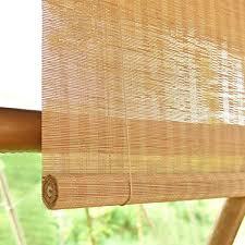 natur rollo bambus sichtschutz jalousien de