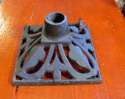 Flagpole Christmas Tree by Items Similar To Antique Cast Iron Christmas Tree Stand With