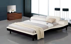 King Platform Bed With Headboard by Platform Bed With Built In Nightstands 2017 And Bedroom Ikea