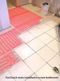 heated bathroom floor heated tile floor kitchen brunosammartino info