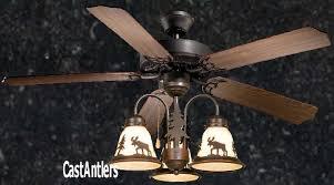 standard size fans rustic ceiling fan 52 inch wilderness w