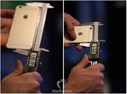 iPhone 6s Measures Slightly Thicker and r Than iPhone 6