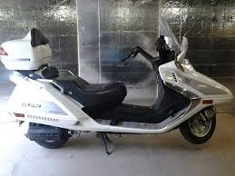 2008 White Wildfire 250cc Scooter