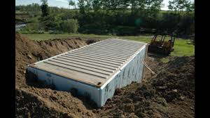 100 Steel Shipping Crates ADVICE FOR PREPPERS BURYING SHIPPING CONTAINERS YouTube