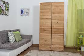 schlafzimmer schrank wildeiche massiv natur 209x106x63 cm