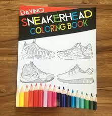 Nike Jordan Coloring Book Sneaker Colouring Pdf Air Head Full Size