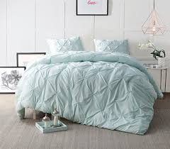 hint of mint pin tuck twin xl comforter