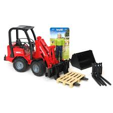 100 Bruder Trucks Youtube 116 Schaffer Compact Loader 2034 With Figure And Accessories By