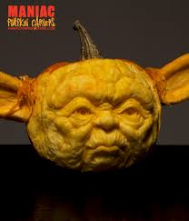 Yoda Pumpkin Stencil by Meet The Maniac Pumpkin Carvers Williams Sonoma Taste