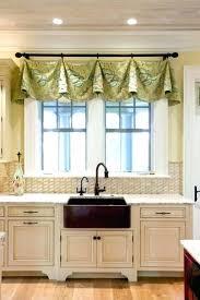 Kitchen Curtain Ideas Above Sink by Kitchen Engaging Kitchen Curtains Over Sink Modern Window