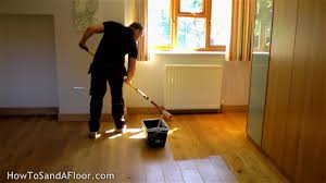 Restain Hardwood Floors Darker by How To Refinish A Wood Floor Without Sanding Youtube