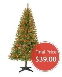 Pre Lit Christmas Tree Just 39 At Walmart