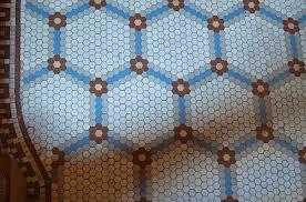 install hexagon floor tile creative home decoration